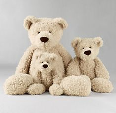 Teddy bears.