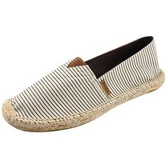 Espadrilles, Crocodile, Flats Boats For Sale, Flats With Arch Support, Striped Canvas, Beige, Partner, Summer Shoes, Cute Shoes
