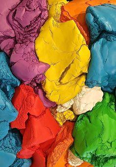 Detail of Jeff Koons's Play-Doh(1994–2014) vializacharlesworth1.