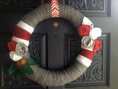 Made to Order: Collegiate Fan Wreath - Ohio State
