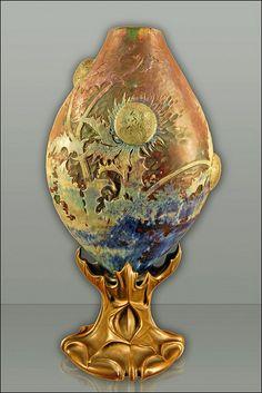 Vase d'Emile Gallé (Musée des Beaux-Arts de Lyon) by dalbera, via Flickr