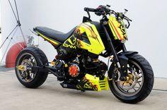 honda msx thailand Honda Grom 125, Grom Bike, Vintage Motorcycles, Custom Motorcycles, Custom Bikes, Mini Moto, Mini Bike, Honda Cub, Best Motorbike