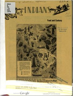 1975 | Indians Food and Cookery | Bureau of Indian Affairs