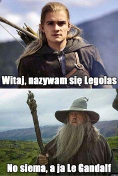 Tytuł mówi wszystko. Memy będą pojawiać się randomowo! #humor # Humor # amreading # books # wattpad Legolas, Gandalf, Aragorn, Tauriel, Polish Memes, Perfect World, Tolkien, Lotr, The Hobbit