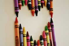 I love the smell of a fresh box of crayons.  <3