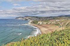 """Sopelana - Sopela - Playa de Barinatxe, conocida como """"La Salvaje"""""""