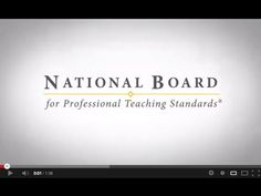 The National Board announces revisions to the certification process. . . Great professional development. Be a teacher leader in your school. Become NBCT.