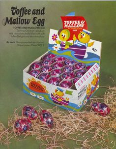 nostalgia Rowntree Easter Eggs from the and - gallery - from York Press 1970s Childhood, My Childhood Memories, Sweet Memories, Old Sweets, Old School Toys, Kids Tv, Vintage Easter, My Memory, Goodies