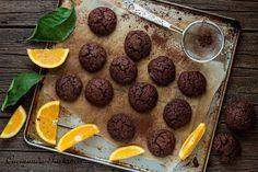 Biscotti+cioccolato+arancia+morbidi+e+gustosi