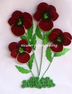 Red Pensies Flower