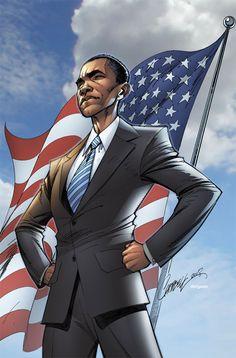 Barack Obama Portrait Inspiration