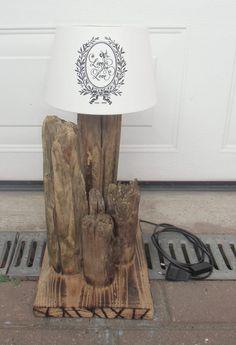 Palettenholz, Treibholz, Lampe, Woodwork, Holz, Schwemmholz…