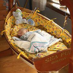 baby boat bassinet cradle