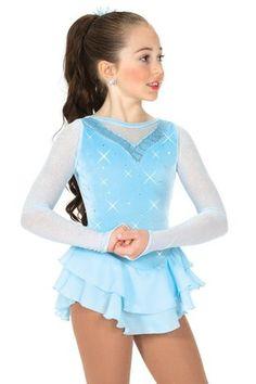 Jerrys Figure Skating Dress #43 - Glass Castle Figure Skating Dress