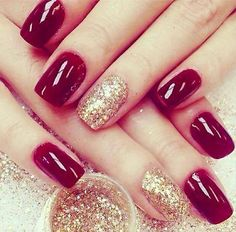Red and sparkles