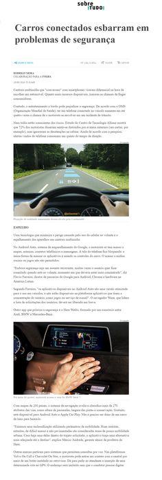 Título: Carros conectados esbarram em problemas de segurança Veículo: Folha Online Data: 28/08/2016 Cliente: Allianz