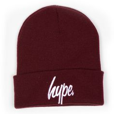 HYPE.BEANIE (BURGUNDY) http://store.justhype.co.uk/product/hype-beanie-deep-red