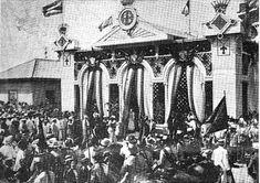 General Camilo Garcia de Polavieja is honored upon his arrival in Manila, Dec. Emilio Aguinaldo, Fort Santiago, Jose Rizal, Filipino Culture, Bataan, Spanish Culture, American War, Spanish Colonial, How To Speak Spanish