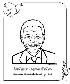 Menta Más Chocolate - RECURSOS PARA EDUCACIÓN INFANTIL: Premios NOBEL de la PAZ Nelson Mandela, Peace Crafts, Nobel Peace Prize, School Hacks, Science And Nature, Gandhi, Geography, Education, History