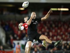 Dagg can't quite believe that the ball has squirmed from his grasp under pressure as he go. British And Irish Lions, Under Pressure, New Zealand, Believe, Tours