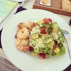Sea food cob salad. San Diego's best. 20140429-152347.jpg