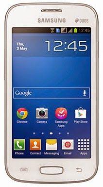 Gambar Samsung Galaxy Star Plus S7262 bagian depan
