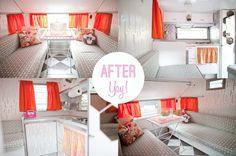 wohnwagen make over   ... wohnwagen on Pinterest   Caravan, Caravan makeover and Before after