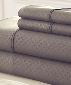 This Taupe Soho Sheet Set is perfect! #zulilyfinds
