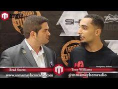 Strikehard 25 Post Fight Interview With Tony Williams