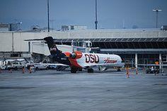 Horizon Air Bombardier RJ-700 in OSU Beavers' colors