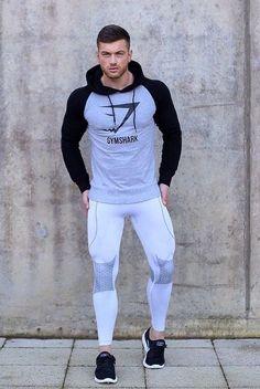 Moda Fashion, Sport Fashion, Fitness Fashion, Mens Tights, Look Man, Compression Pants, Mens Clothing Styles, Clothing Ideas, Gym Style