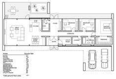 Modern Style House Plan - 3 Beds 2 Baths 1671 Sq/Ft Plan #552-5 Floor Plan - Main Floor Plan - Houseplans.com