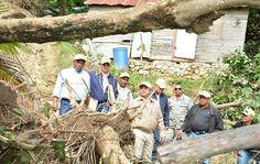 Invi evalua viviendas afectados por lluvias en Puerto Plata y María Trinidad Sánchez
