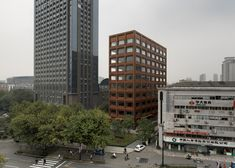 David Chipperfield's Moganshan Road building features a copper facade