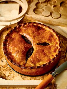 Steak and ale pie recipe from B.I.Y. Bake It Yourself by Richard Burr | Cooked