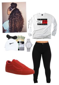 """Untitled #38"" by r3albaddie ❤ liked on Polyvore featuring Vans, BERRICLE and Michael Kors"