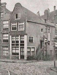 Amsterdam, Driehoekstraat 16 en 18 (1920)
