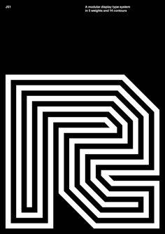 DesignPractice & Alberto Romanos / JS1 / Typeface / 2016