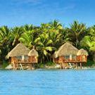 Aitutaki Lagoon Resort - Cook Islands - LOVE these over water bungalows!!!