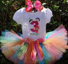Team Umizoomi birthday tutu set by SweetBellaz on Etsy