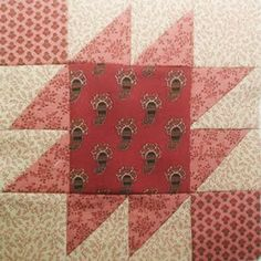 Civil War Quilts: Westering Women Block 2 Indian Territory - Visit to grab an amazing super hero shirt now on sale! Big Block Quilts, Old Quilts, Antique Quilts, Quilt Block Patterns, Vintage Quilts, Pattern Blocks, Quilt Blocks, Quilting Projects, Quilting Designs