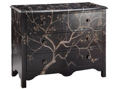 Shop for Stein World Rivendell Chest, 12631, and other Living Room Chests and Dressers at Stein World in Memphis, TN. The beauty of nature is captured in this three-drawer chest. A stylized tree adorns its handpainted surfaces.