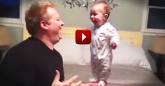When Mom's Away This Dad Will Play. And Did I Mention This is Absolutely Precious! - Cute Video