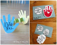Here are a bunch of creative valentine's day handprint crafts and card ideas for kids to make! Valentine Activities, Valentine Day Crafts, Holiday Crafts, Kids Valentines, Diy And Crafts Sewing, Baby Crafts, Toddler Crafts, Crafts For Teens, Diy For Kids