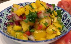Mango Salsa - Paleo, SCD, Gluten-Free, Grain-Free, Dairy-Free, Sugar-Free, Clean-Eating, Vegetarian, Vegan