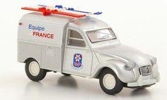 CITROEN 2CV FOURGONETTE EQUIPE DE FRANCE X. OLYMPISCHE WINTERSPIELE GRENOBLE 1968 abrikant, momenteel onbekend