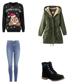 Bez tytułu #65 by wiki208 on Polyvore featuring moda, Boohoo, Paige Denim and Timberland