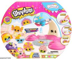 BEADOS  Shopkins  Season 3  Sweet Spree Design Station  HTF Hot Toy! #Moose