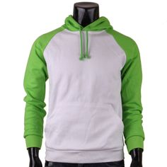 bcpolo - Raglan hoodie white Green Cotton Raglan hoody Long Sleeves, $18.99 (http://www.bcpolo.com/products/raglan-hoodie-white-green-cotton-raglan-hoody-long-sleeves.html)