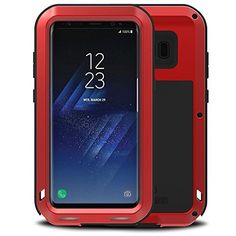 7 best samsung galaxy s8 plus drop protective case images galaxylove mei galaxy plus case metal extreme aluminum military heavy duty shockproof water resistant dust dirt snow proof protection case cover for samsung